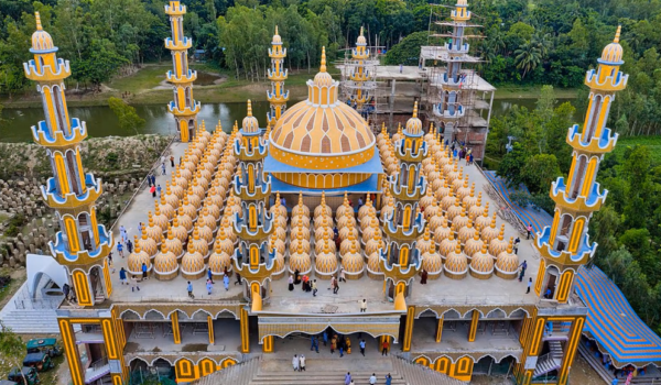 201 Dome Mosque in Bangladesh (With Video)