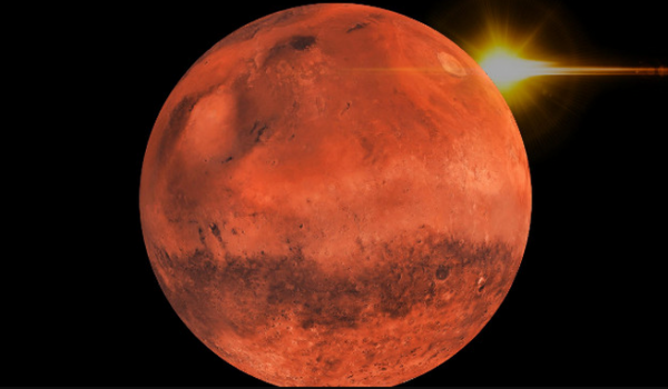 Mars can be seen the largest from Earth